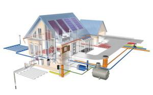 Проект отопления, водоснабжения дома