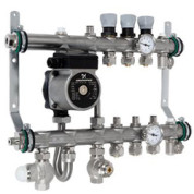 Коллектор с интегрированным смесительным узлом