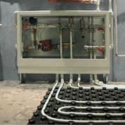 Низкотемпературная система отопления: теплый пол водяной