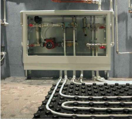 Низкотемпературная система отопления, теплый пол водяной
