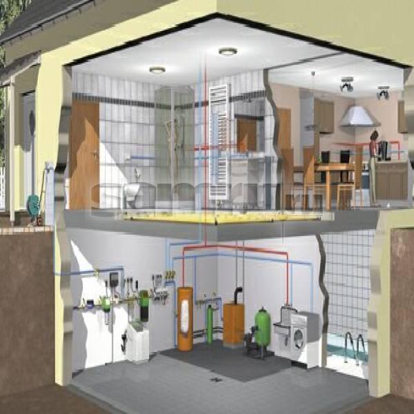С чего начинается проектирование системы отопления частного дома