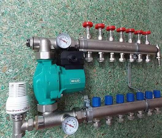 Особенности подключения водяного тёплого пола к обычным котлам отопления