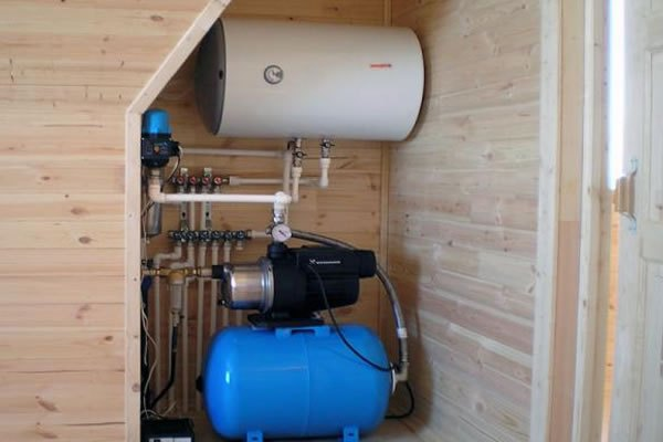Актуальные схемы накопительного водоснабжения