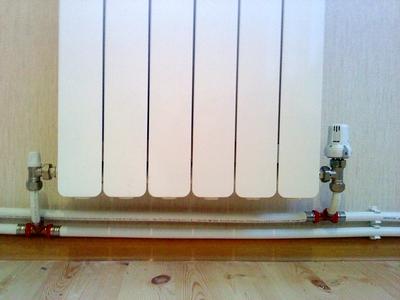 Регулирующие узлы в схемах монтажа радиаторов отопления
