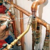 Технология сборки медных труб для водоснабжения